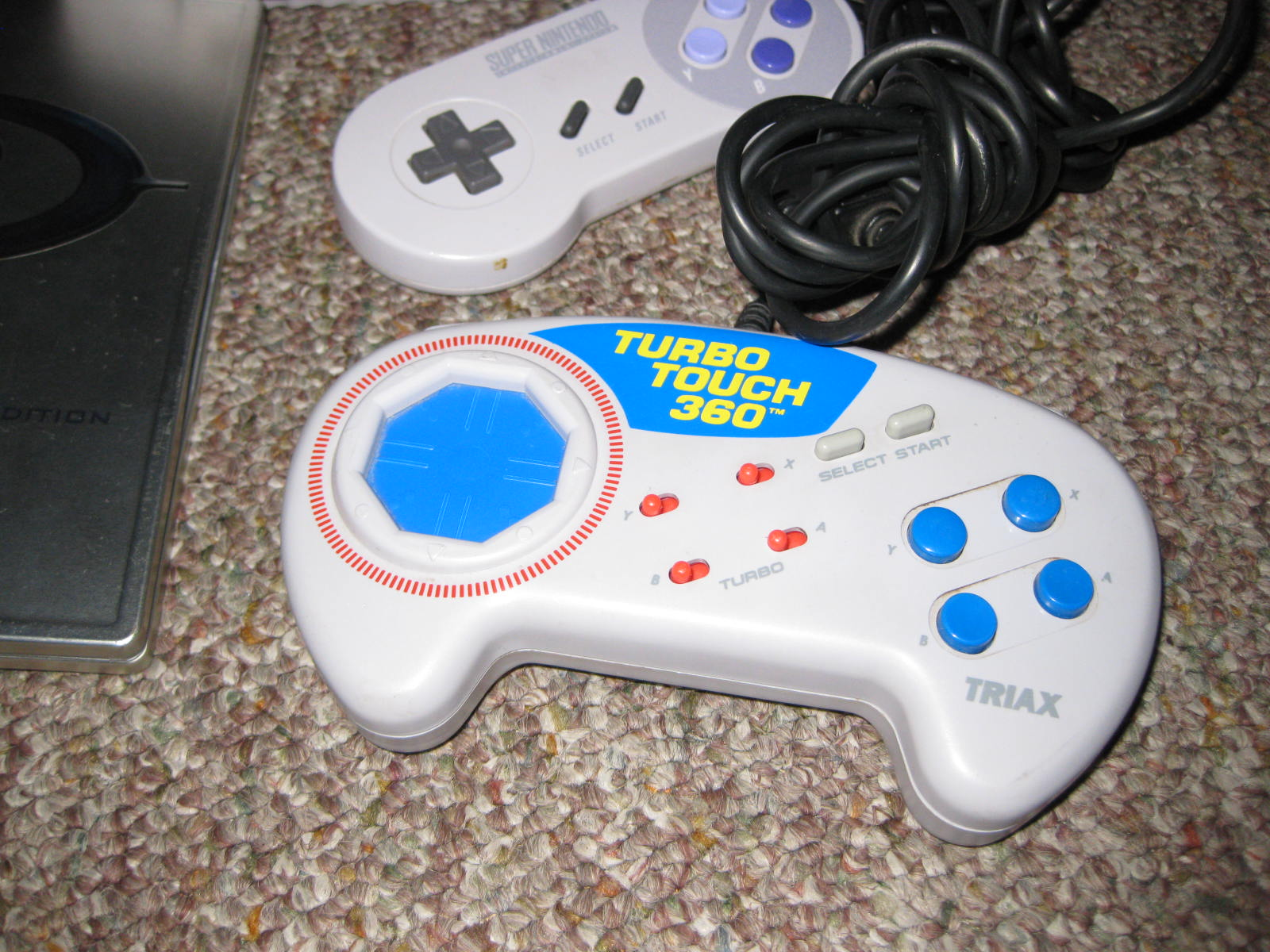 Rare Video Game Hunting Snes Triax Turbo 360 Controller