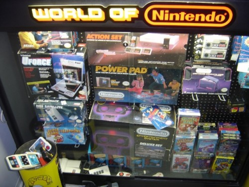 Rare Game Showcase Lighted Nintendo Store Display Cases