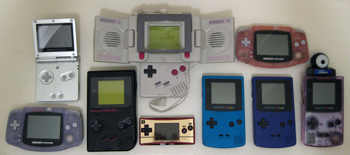 A Handheld Gaming Timeline Video Game Museum Blog Store