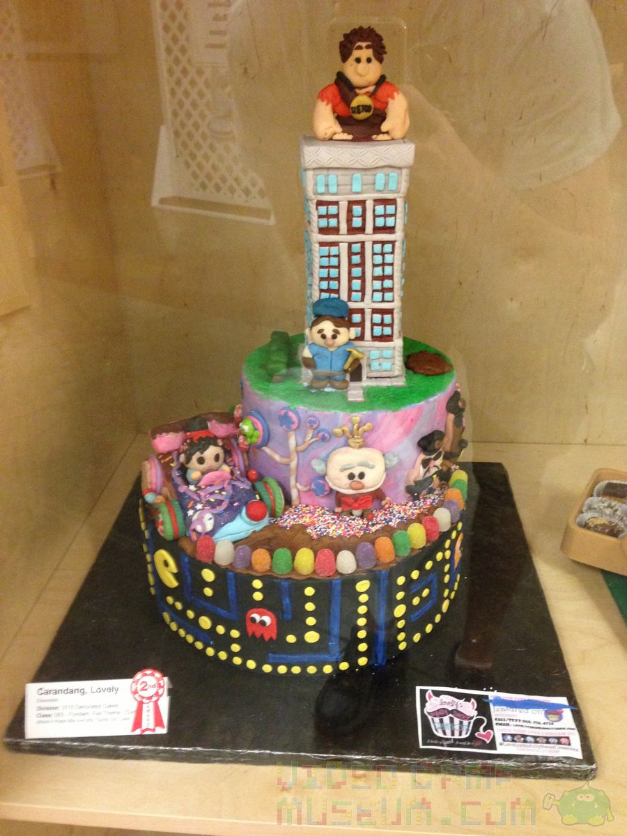 Handmade Pac Man Wreck It Ralph Cake Video Game Museum